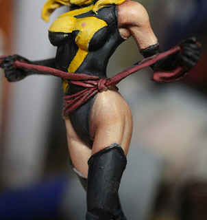 "Knight Models KMV-008 ""Ms.Marvel"" -2"