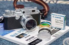 [非模型話] Canon Serernar 50mm F1.9を購入