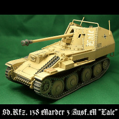 "TAM ""35255 German Tank Destroyer Marder III M"" -Comp"