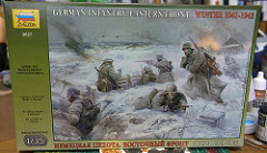 "[キットレビュー]ZVEZDA ""3627 German Infantry. Eastern Front Winter 1941-1942"""