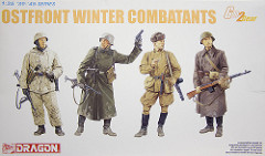 "[キットレビュー]DML ""6652 Ostfront Winter Combatants"""