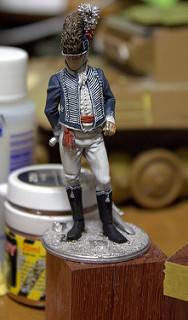 "Pegaso Models ""British Light Dragoon Officer 11th Regt. 1811"""
