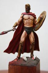 "Yedharo Miniatures YM-5401 ""Spartan King""–4(完成)"