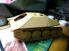 キットレビュー: 田宮 [Jagdpanzer 38(t) Hetzer Mittere Produktion]