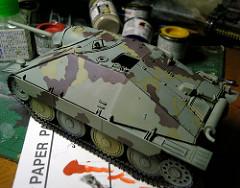 タミヤ[Jagdpanzer 38(t) Hetzer] -2