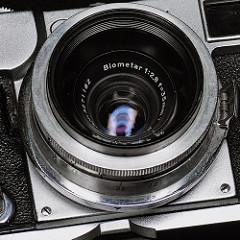[非模型話] Contax II用Biometar 35mm F2.8が凄い