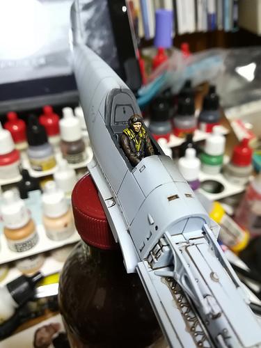 Airfix Bf109E その2